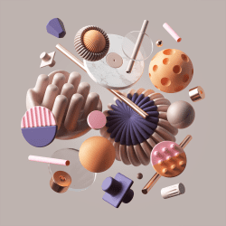 Peter Tarka   Abstract Compositions and Renders made with C4D, Octane and Photoshop 24