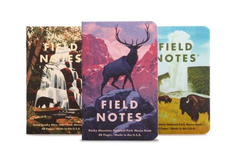 National Park Illustrated Field Notes Cover