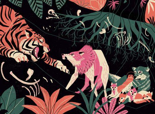 Jungle Book Illustrations – Andre Ducci 04