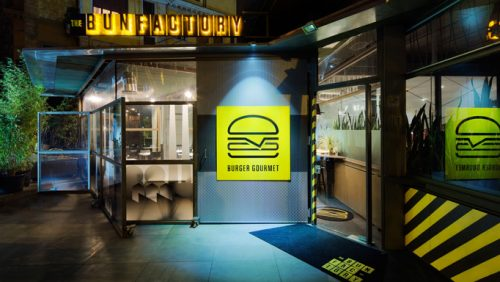 The Bun Factory | Burger Restaurant | Logo Design