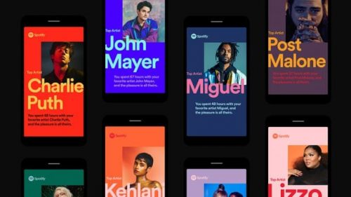 Spotify – 2018 Wrapped – Mobile and Web Design