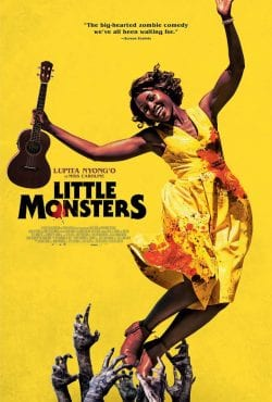Little Monsters – Vintage-Style Key Art Movie Poster About Zombies