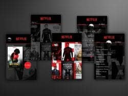 Netflix UX/UI
