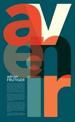 Avenir Typography Poster