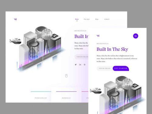 Metropolis UI/UX Design