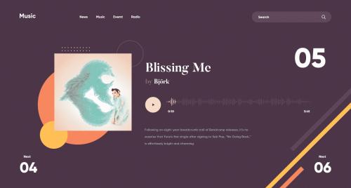 Gigi Tamarasvili – Web design