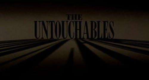 The Untouchables Title Treatment
