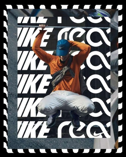 Tran La x Conscious Minds – Nike React IG Typographic Poster Campaign 6 (1)