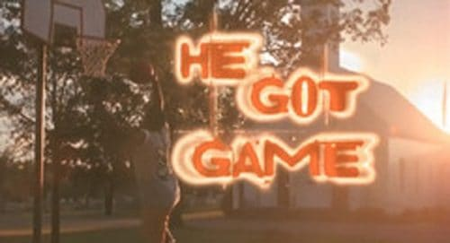He Got Game Title Treatment