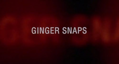 Ginger Snaps Title Treatment
