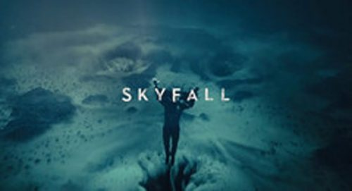 Skyfall Title Treatment
