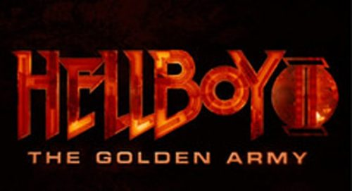 Hellboy 2 The Golden Army Title Treatment