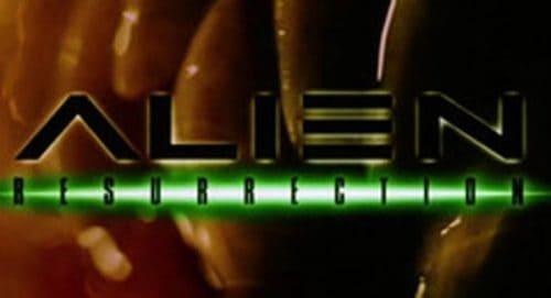 Alien 4 Resurrection Title Treatment
