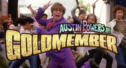 Austin Powers Goldmember Title Treatment