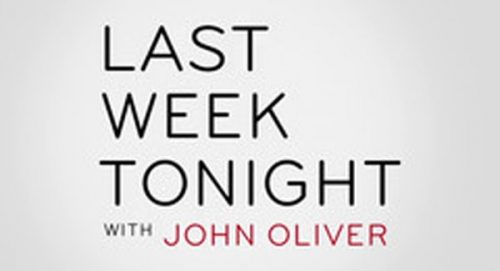 Last Week Tonight with John Oliver Title Treatment