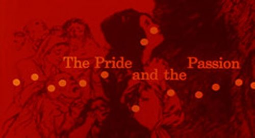 The Pride and the Passion Title Treatment