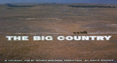 The Big Country Title Treatment