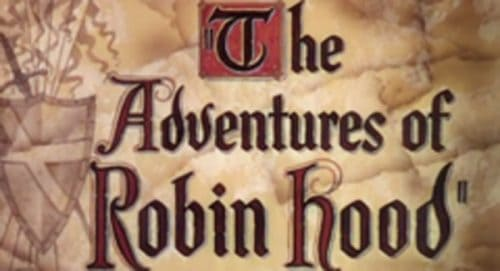 The Adventures of Robin Hood Title Treatment
