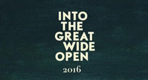 Into The Great Wide Open Title Treatment