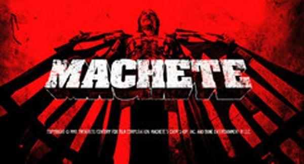 Machete Title Treatment