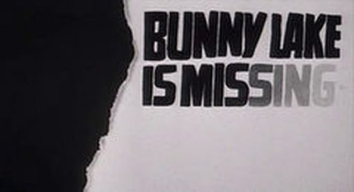 Bunny Lake is Missing Title Treatment