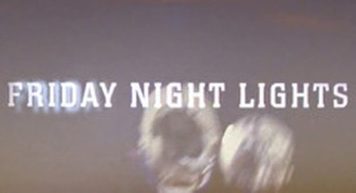 Friday Night Lights Title Treatment