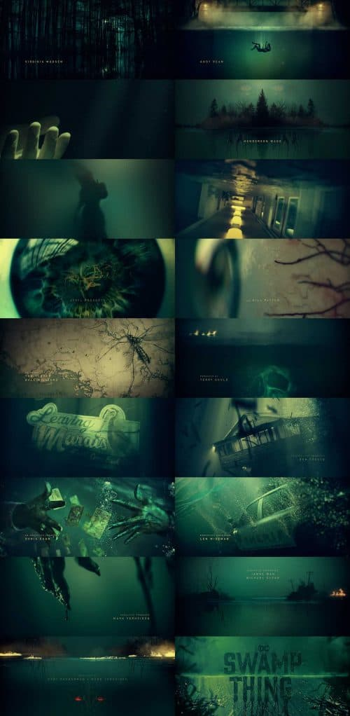 Swamp Thing Title Sequence