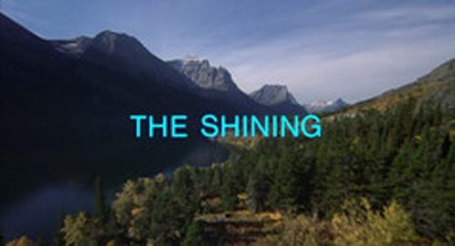The Shining Title Treatment
