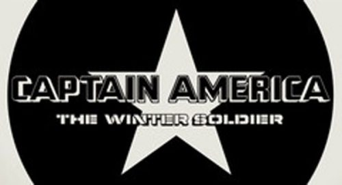 Captain America The Winter Soldier Title Treatment