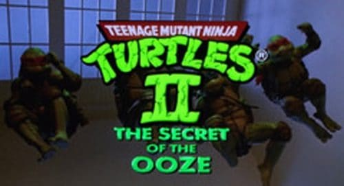 Teenage Mutant Ninja Turtles 2 The Seret of the Ooze Title Treatment