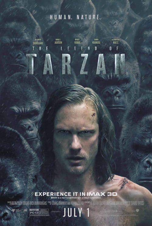 Tynell Marcelline – Tarzan Key Art