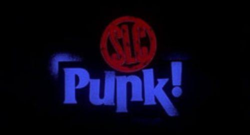 SLC Punk Title Treatment