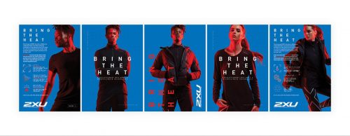 2XU – Bring the Heat Poster Design Campaign 001
