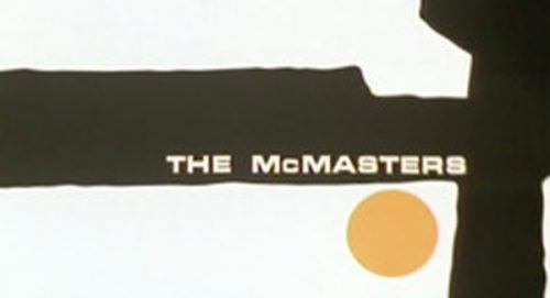 The McMasters Title Treatment