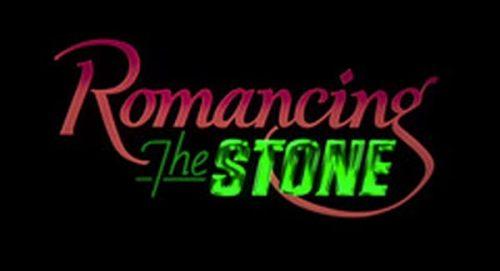Romancing the Stone Title Treatment
