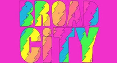 Broad City Title Treatment