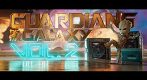 Guadians of the Galaxy Vol. 2 Title Treatment
