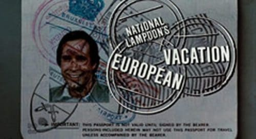 National Lampoons European Vacation Title Treatment