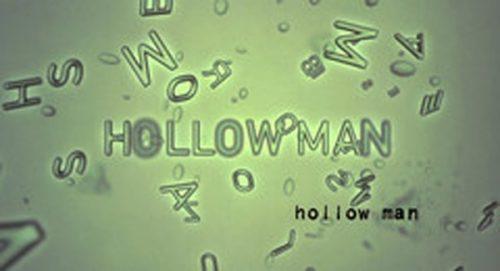 Hollow Man Title Treatment