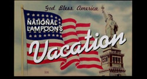 National Lampoon's Vacation Title Treatment