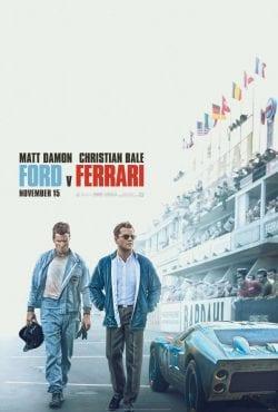 Ford v. Ferrari Key Art