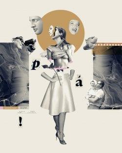 Collage Illustration Design for Superinteressante 001