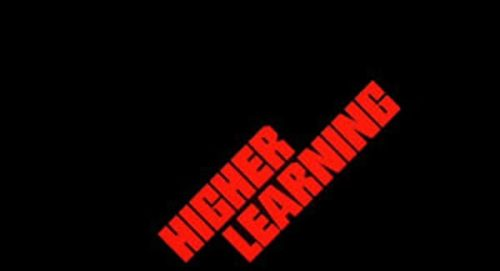 Higher Learning Title Treatment