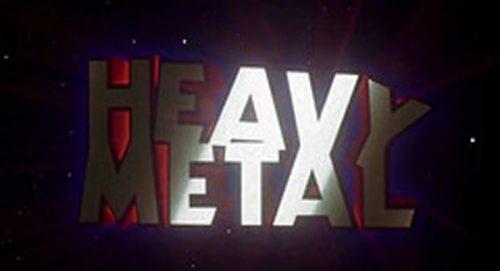 Heavy Metal Title Treatment