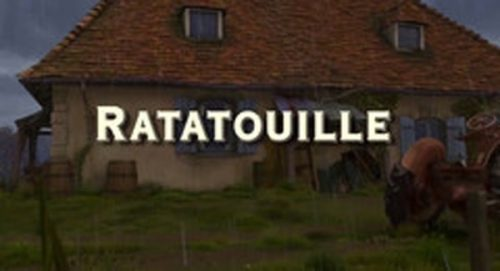 Ratatouille Title Treatment