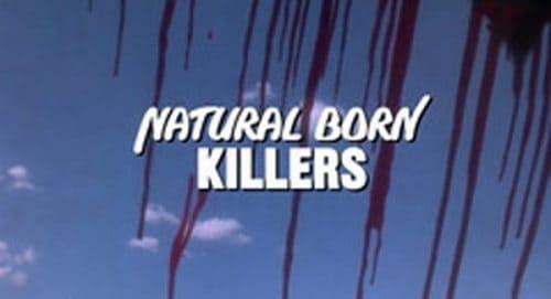 Natural Born Killers Title Treatment