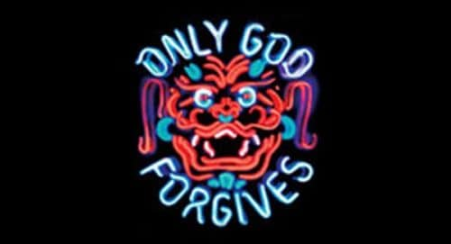 Only God Forgives Title Treatment