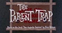 The Parent Trap Title Treatment