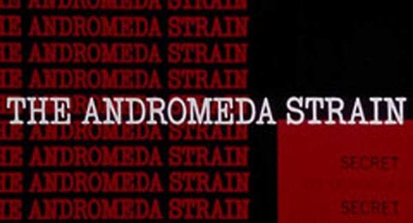 The Andromeda Strain Title Treatment