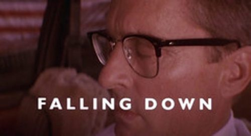Falling Down Title Treatment